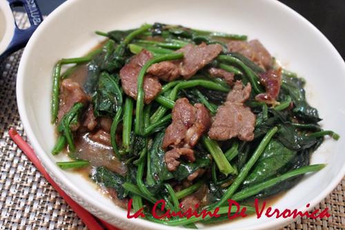 菠菜炒羊肉 沙茶菠菜炒羊肉