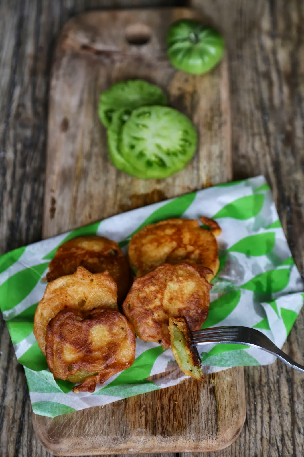 Green Fried Tomatoes At The Whistle Stop Cafe Recipe