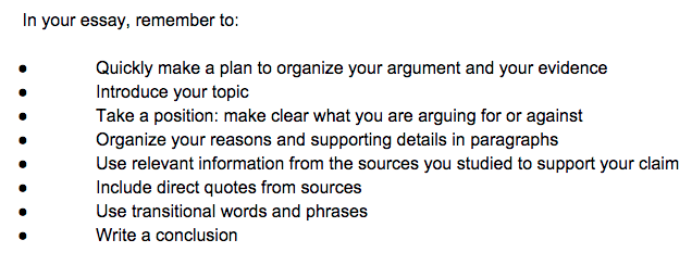 your message essay