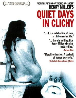 Poster Of Quiet Days in Clichy In Dual Audio Hindi English 300MB Compressed Small Size Pc Movie Free Download Only At cintapk.com