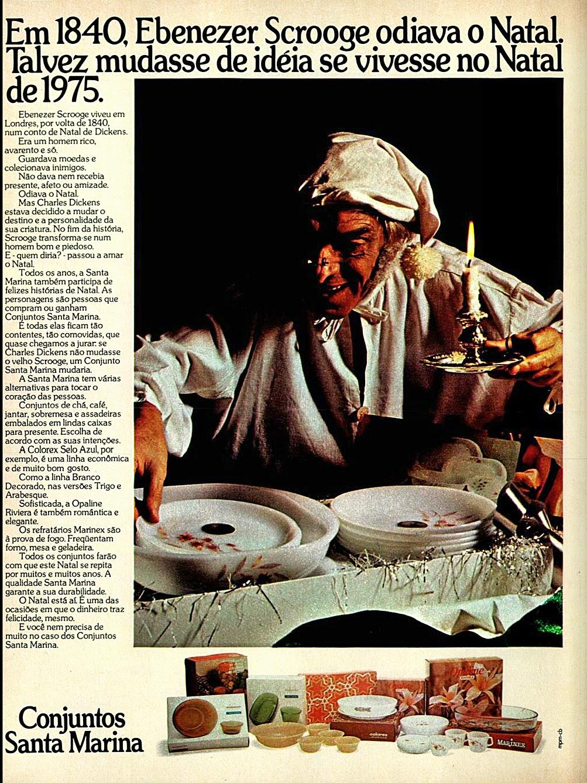 1975. propaganda década de 70. Oswaldo Hernandez. anos 70. Reclame anos 70