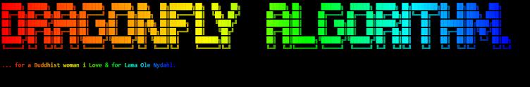 Dragonfly Algorithm.