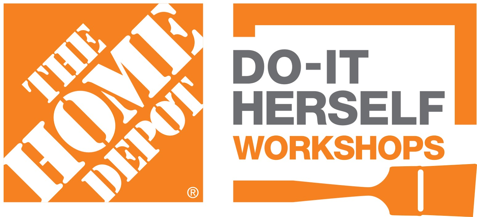 Join Me For Free Live DIY Workshops At The Home Depot!