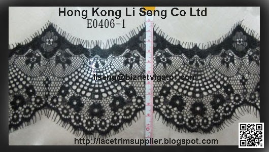 Double Scalloped Lace Manufacturer - Hong Kong Li Seng Co Ltd