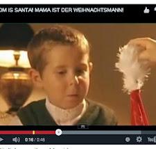 Mama ist der Weihnachtsmann