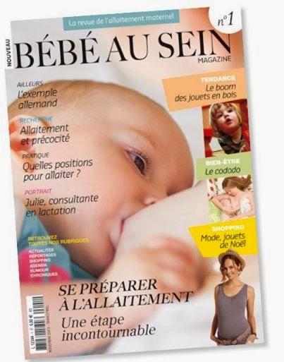 """Je lis """"Bébé au Sein"""""""
