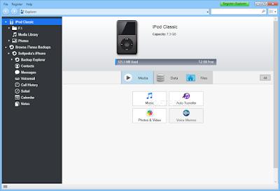 تحميل برنامج ربط الايفون - اي باد - اي بود بالكمبيوتر عربي برابط مباشر iExplorer 3.7.3.0