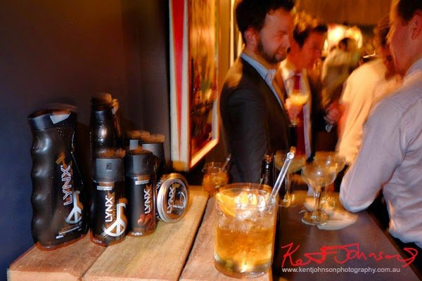 Lynx #lynxman relaunch party at WIP BAR Sydney, products, Drinks, Street Fashion Sydney.