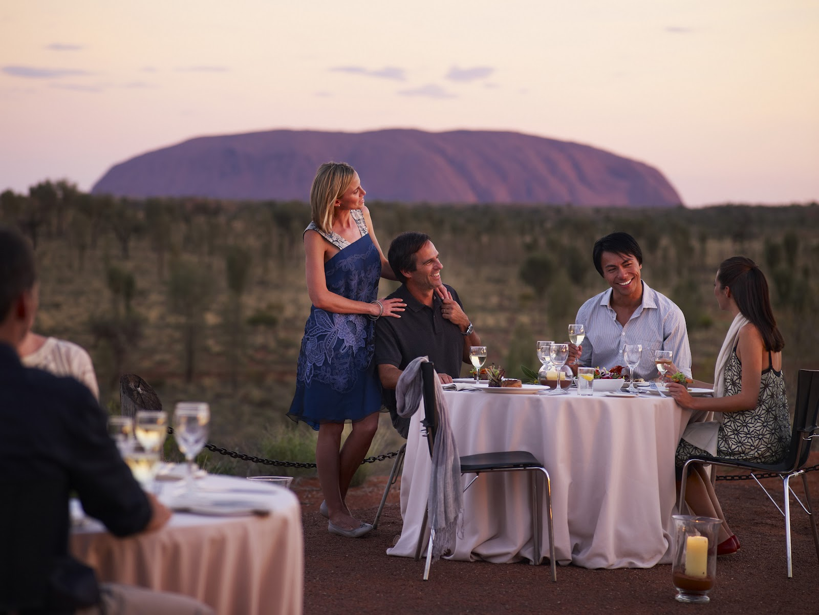 sunlover holidays tali wiru dining under the outback stars