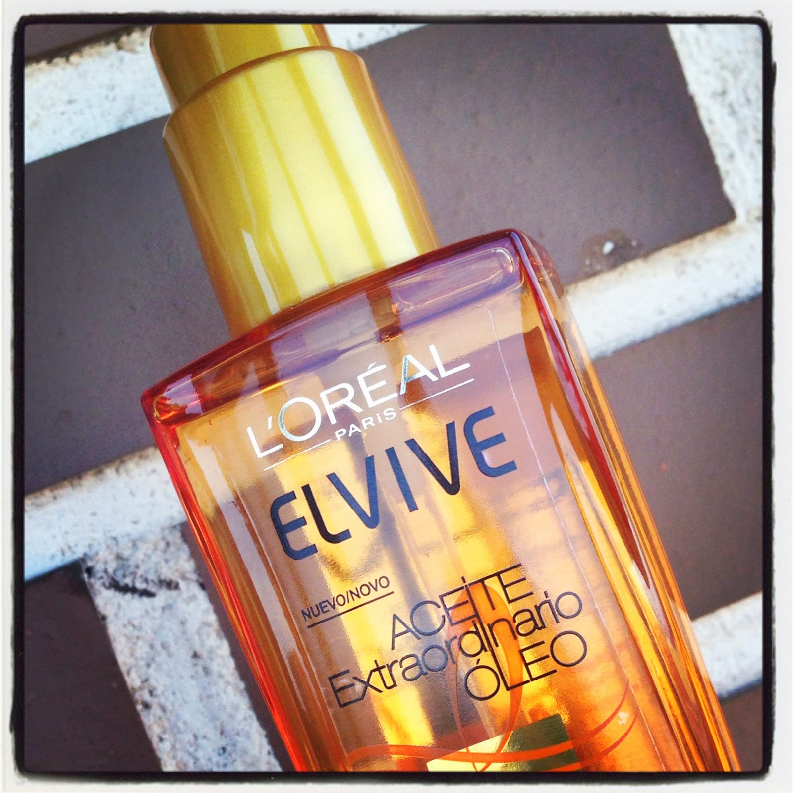 Aceite Extraordinario de L'Oréal Elvive.