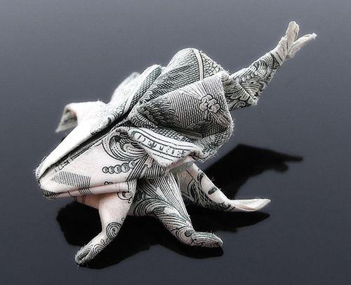 Magnifique Origami Dollar par Craig Sonnenfeld