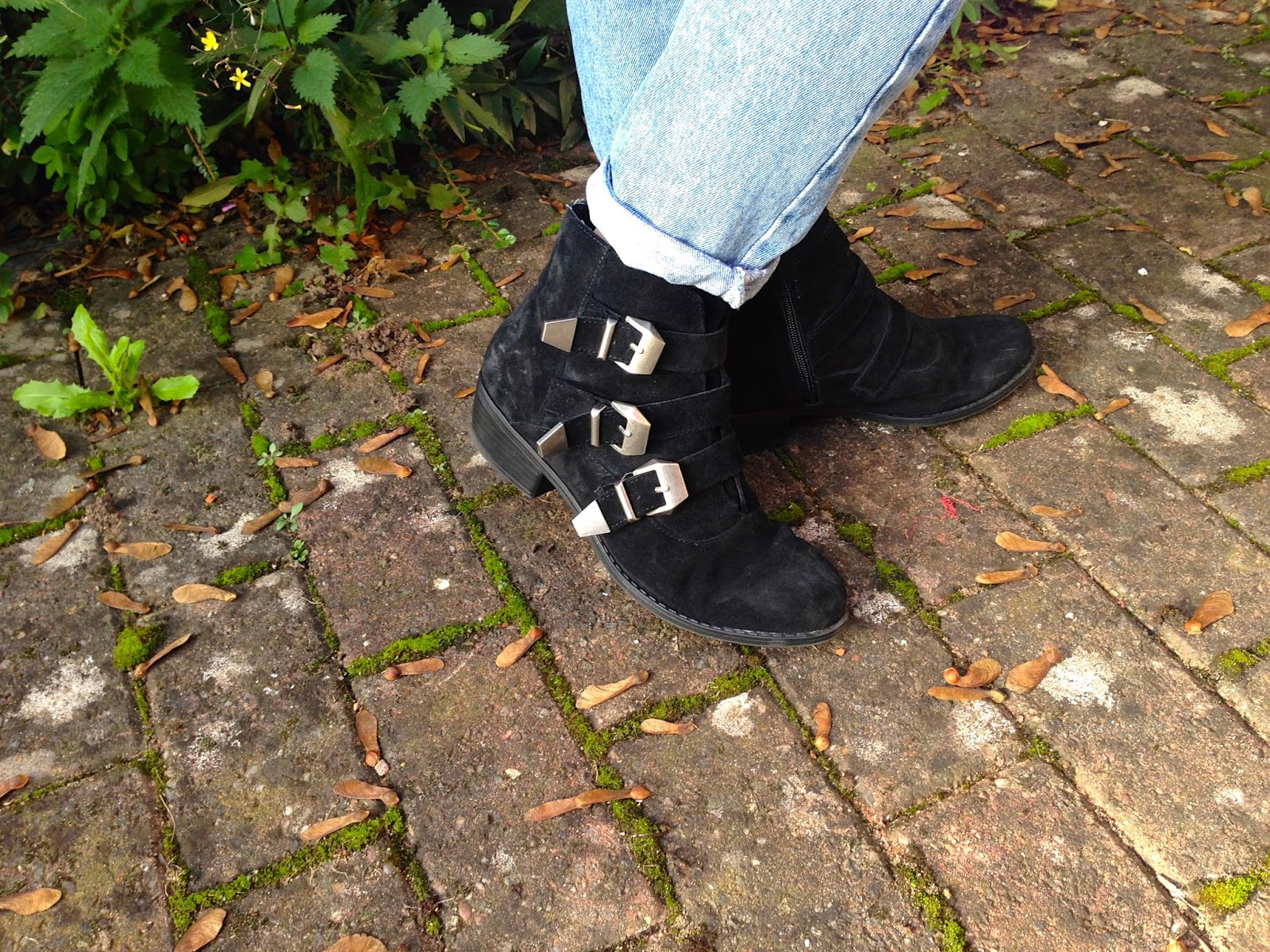 Topshop Buckle Billy Boots