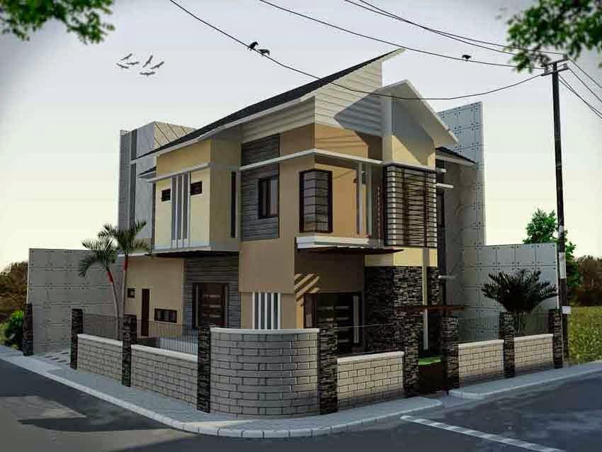 Gambar Desain Rumah Minimalis 2 Lantai Hook