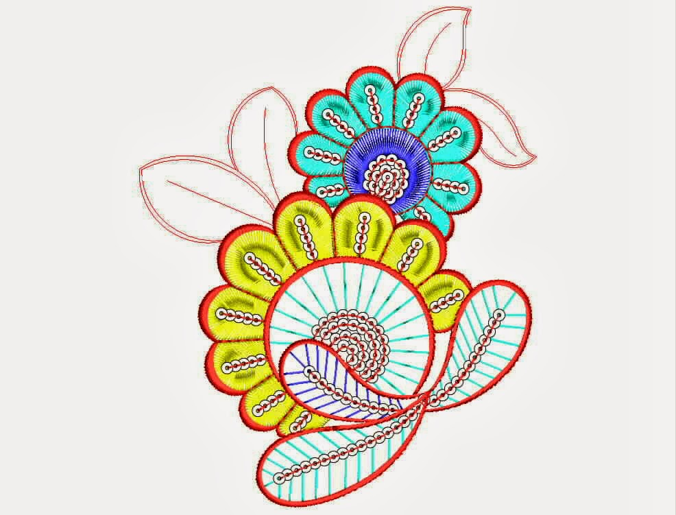 Embdesigntube Beautiful Embroidered Patch Designs