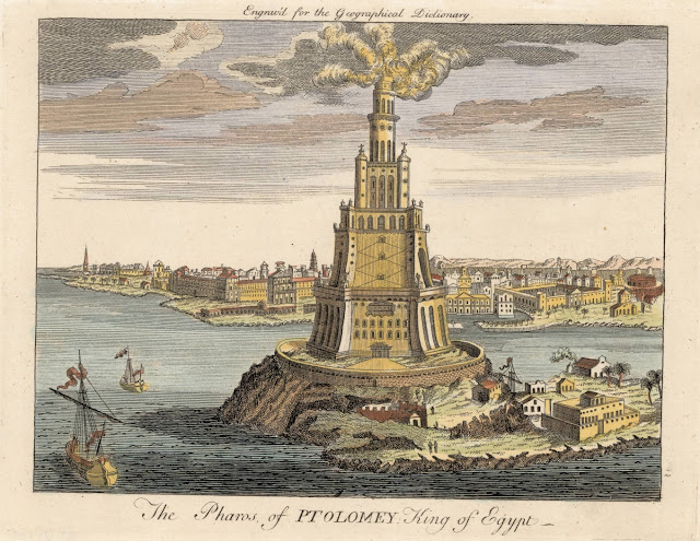Pharos Lighthouse Lighthouse Of Alexandria