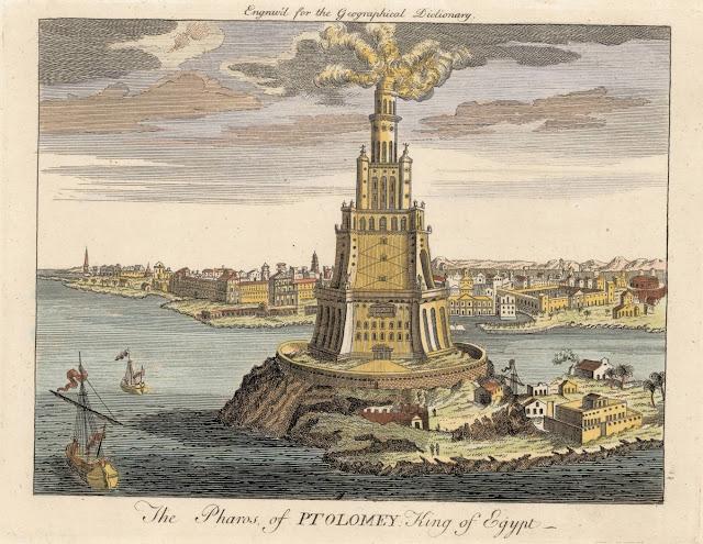 Pharos Lighthouse Lighthouse Of Alexandria