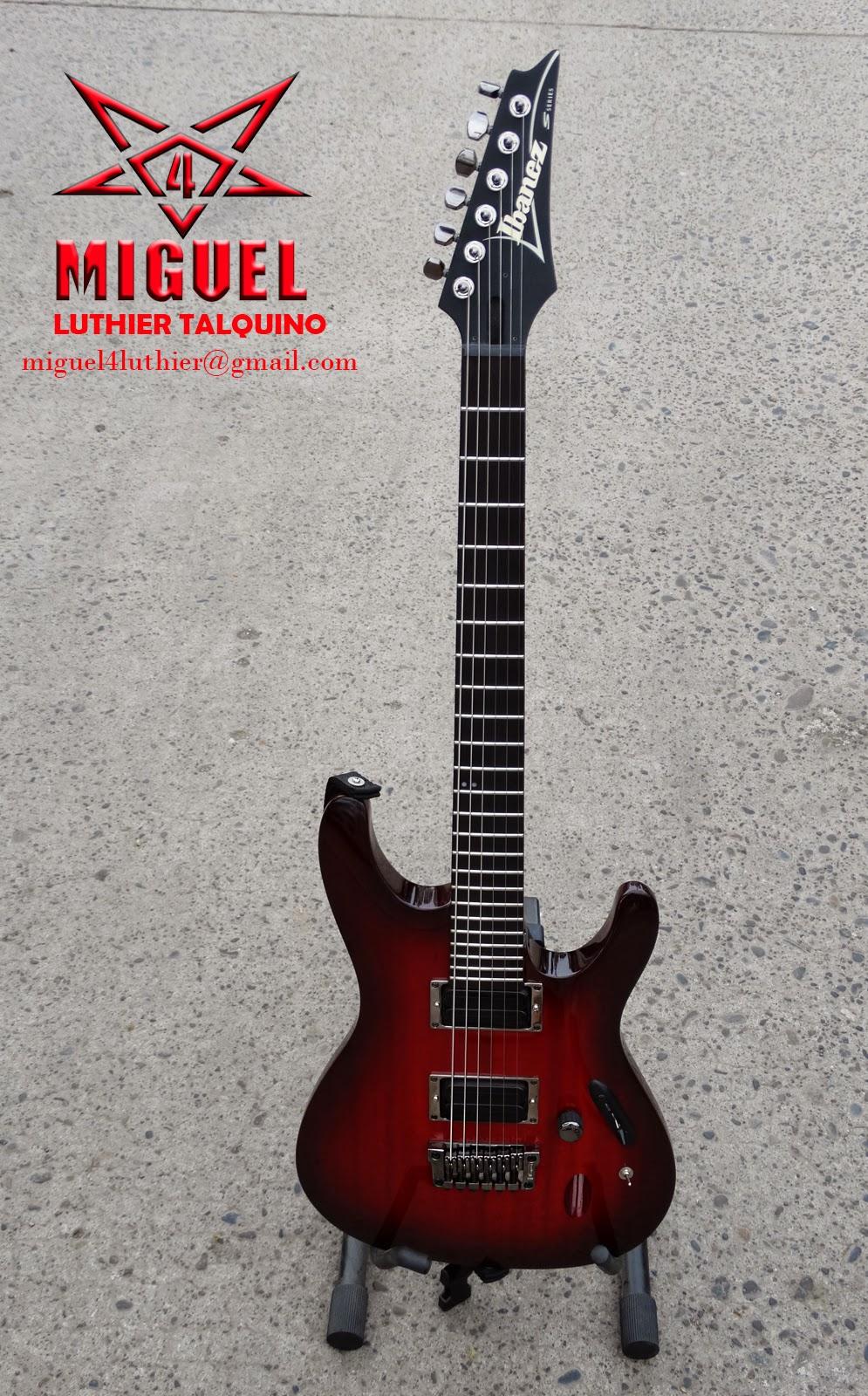 Luthier miguel4 talca guitarra el ctrica ibanez s for Luthier guitarra electrica