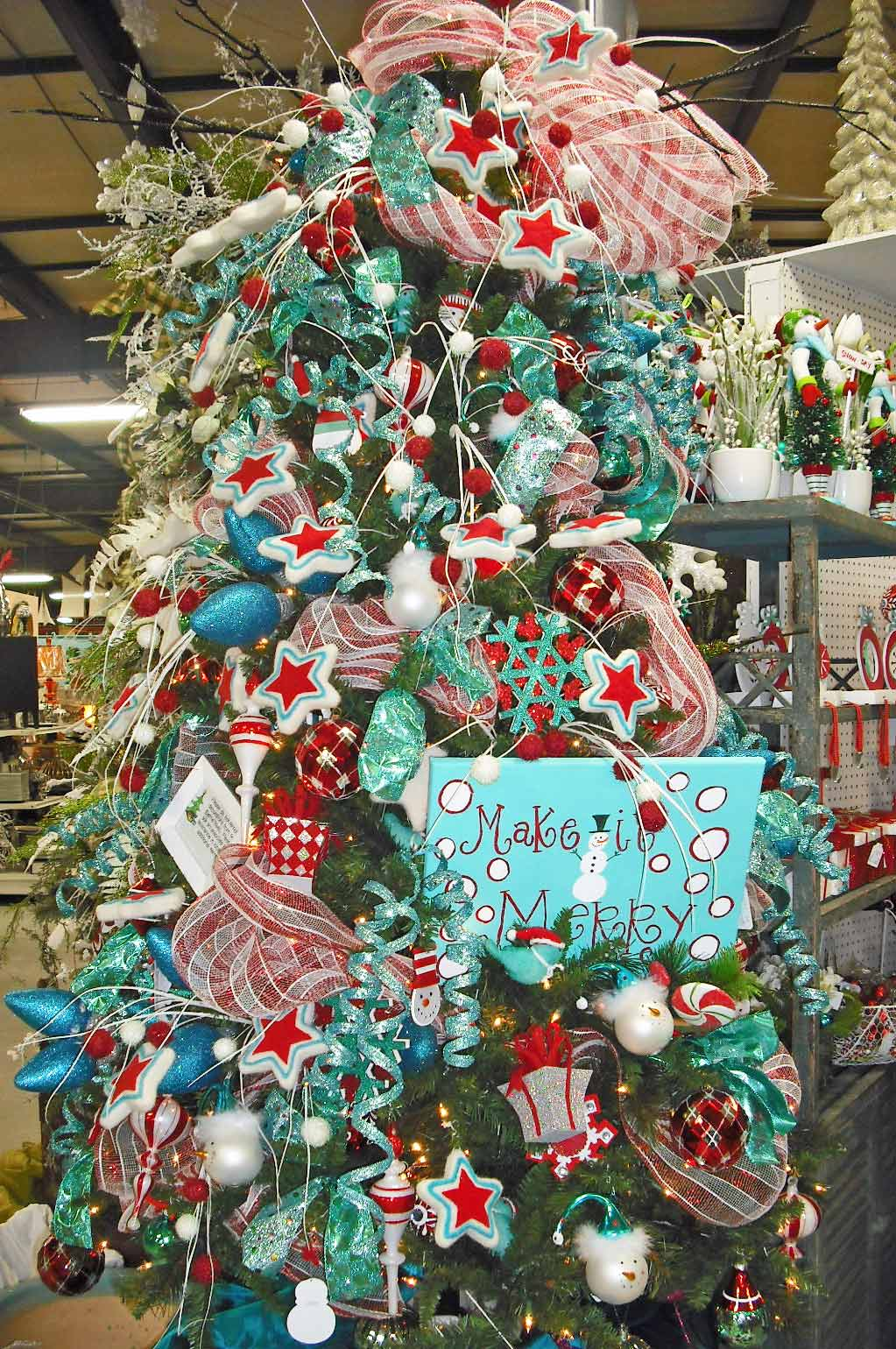 Studio b uberart twelve days of christmas trees day 4 for 12 days of christmas decoration theme