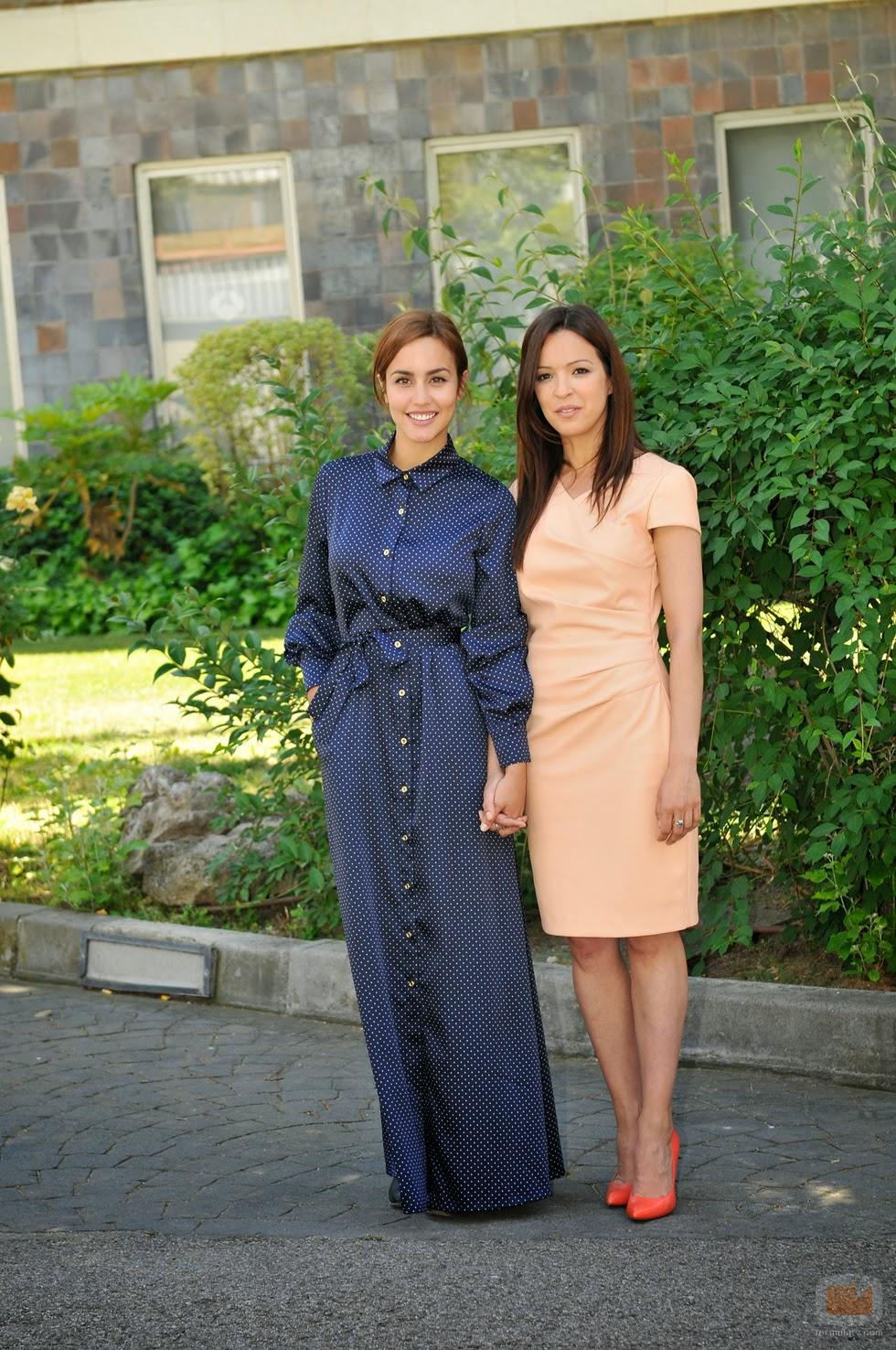 ¿Cuánto mide Verónica Sánchez? Megan+Montaner+y+Veronica+Sanchez