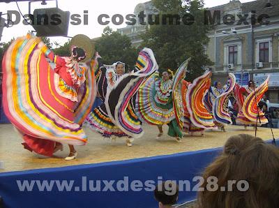 Costume si dansuri populare traditionale din Mexic