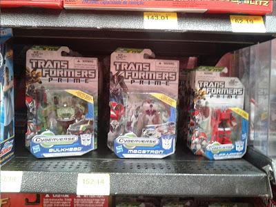Transformers Prime Cyberverse en Walmart