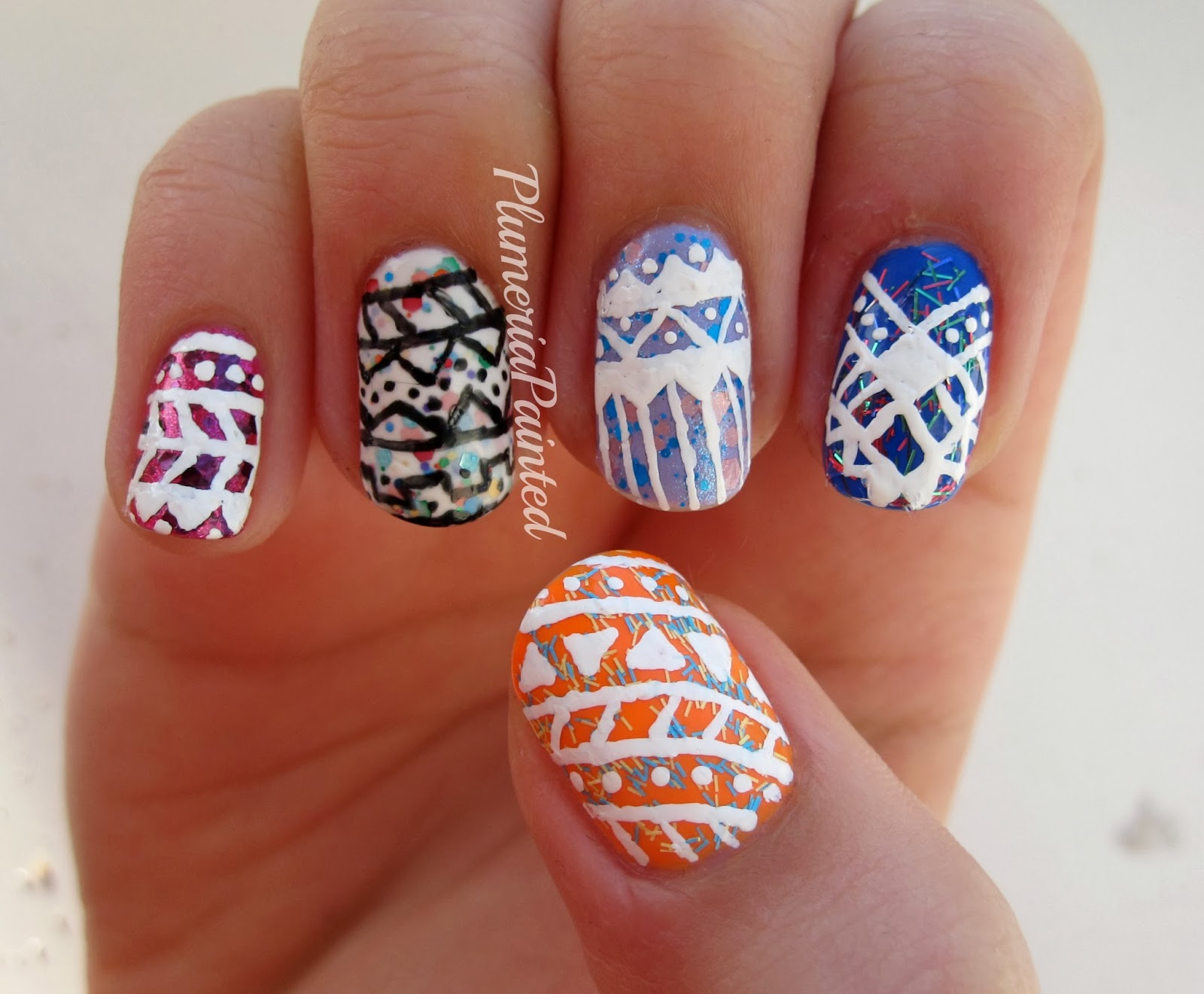 Cute butterfly nails  Nail ideas  Onglerie Ongles