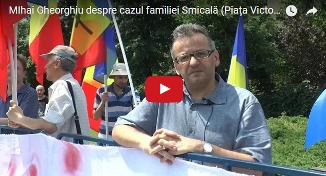 Mihai Gheorghiu, președintele Coaliției pentru Familie, face un apel pt susținerea Cameliei Smicală