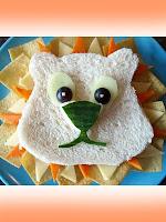 детски сандвич лъвче