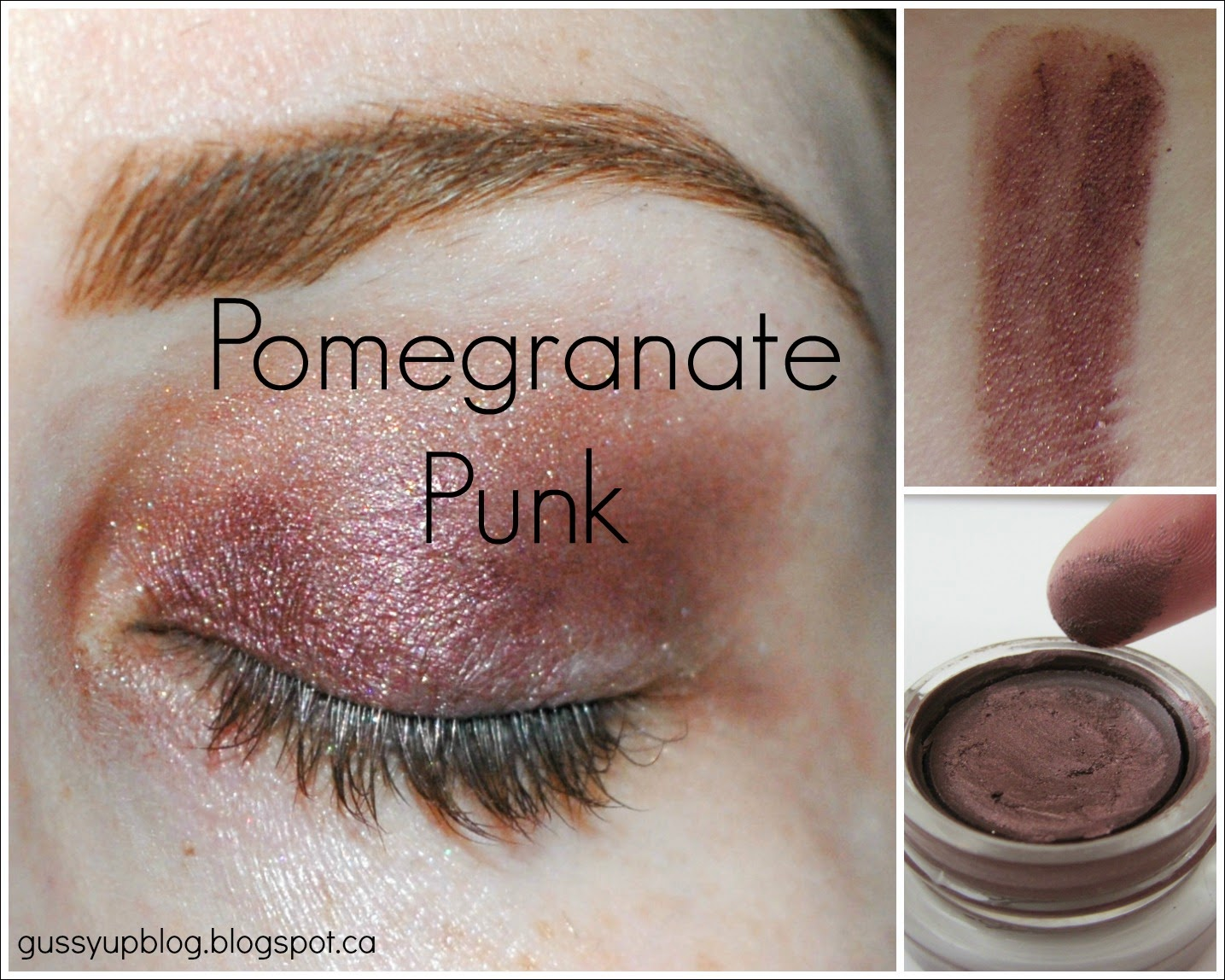Maybelline Color Tattoo 24 Hour Eyeshadow, Pomegranate Punk, Review and Swatches