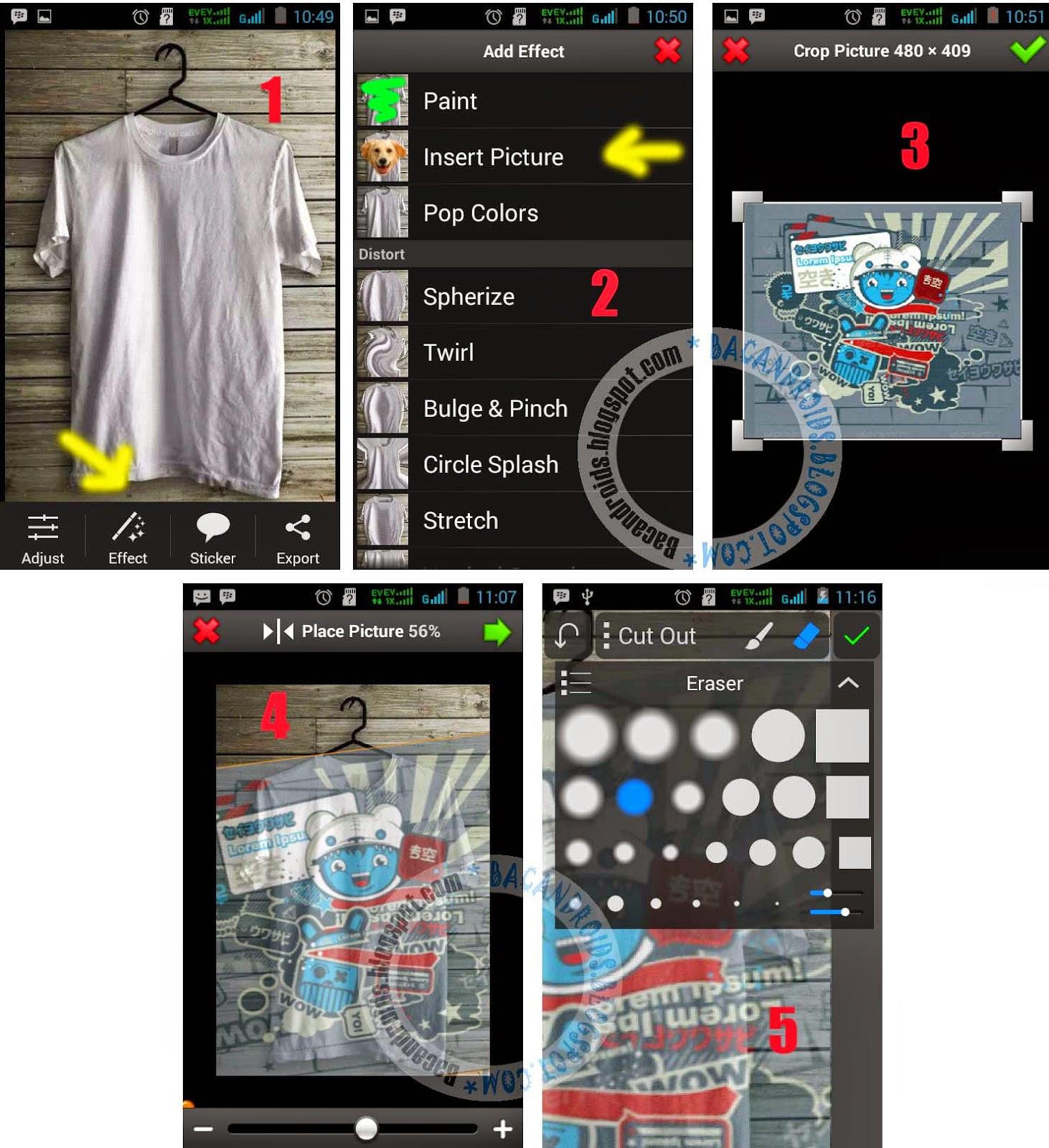 download Edit Foto Desain Baju dengan Android