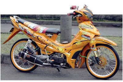 Modif Yamaha Jupiter 2008