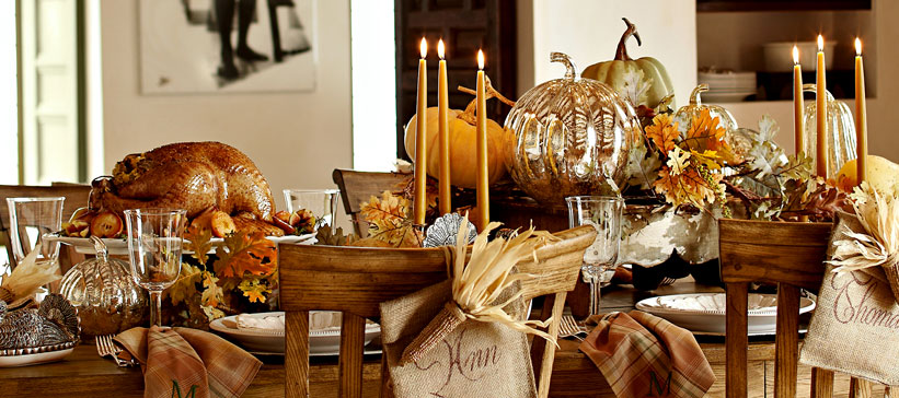 Every little detail by event19 thanksgiving table made easy for Pottery barn thanksgiving