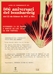 80è aniversari del bombardeig sobre Flix el 23 de febrer de 1937