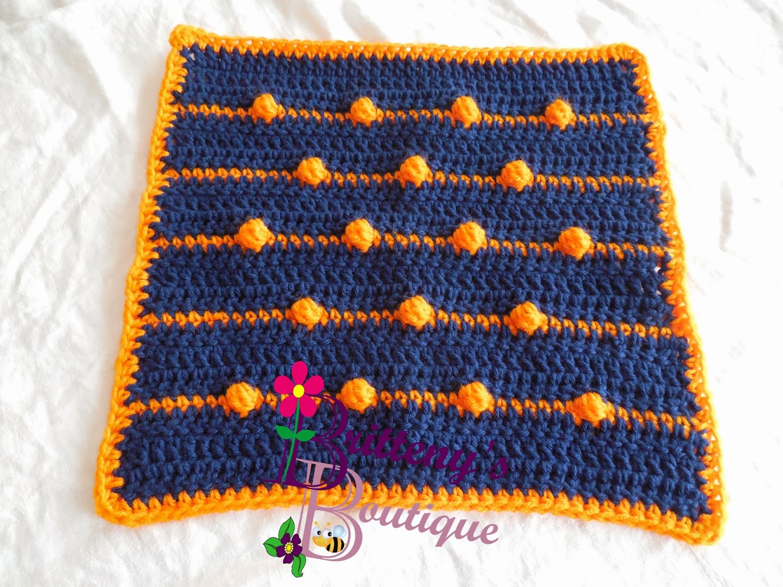 Britteny Off the HOOK!!: Baby\'s Bouncing Ball Blanket Pattern ...