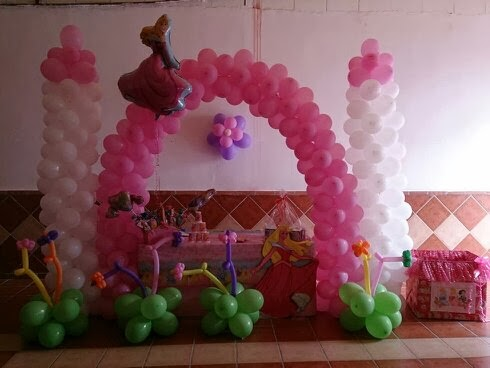 decoracion de cumpleaos princesas