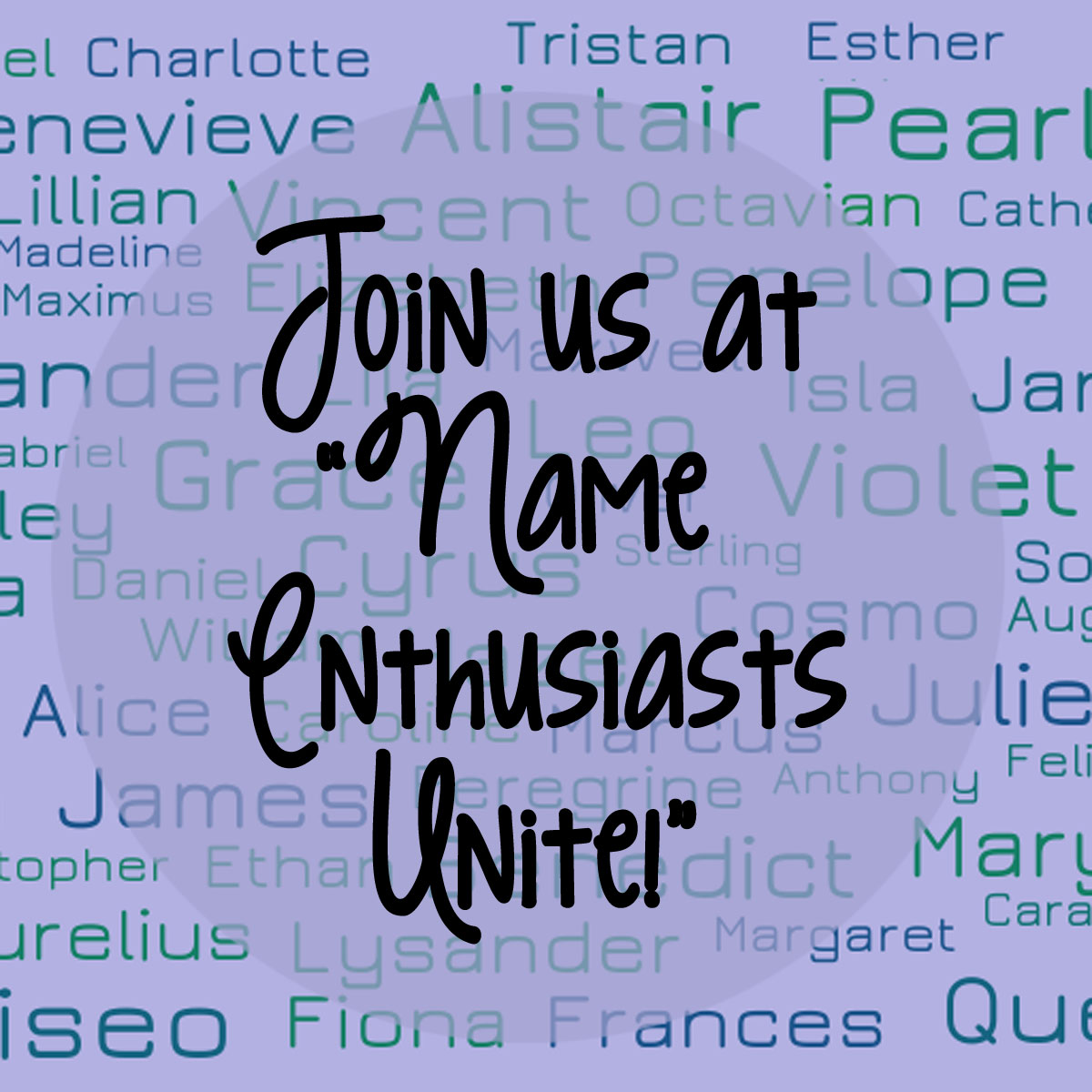 Love Names? Chat With Us!