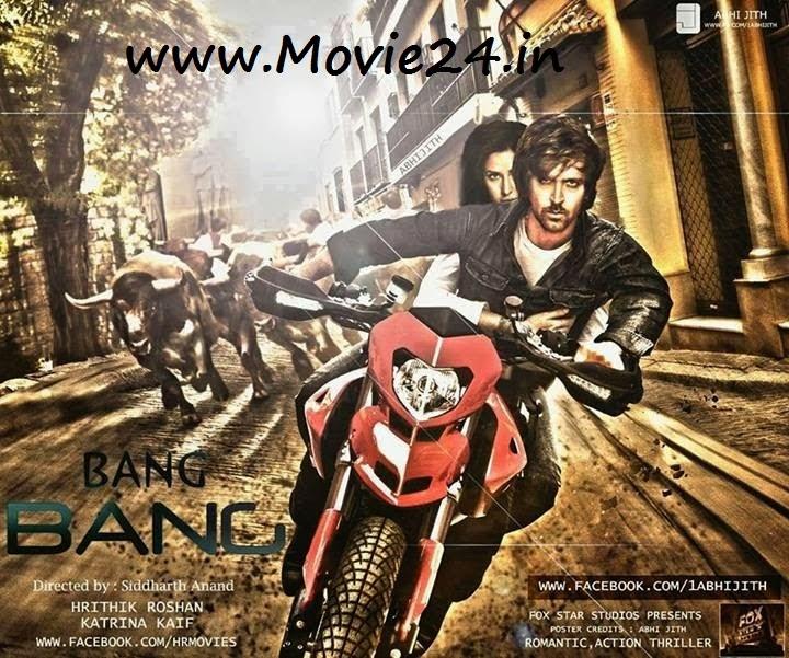 Full Movie Download: Download Bang Bang Hindi Movie 2014