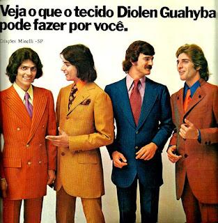 propaganda tecidos Diolen Guahyba - Coleção Minelli 1972; Moda anos 70; propaganda anos 70; história da década de 70; reclames anos 70; brazil in the 70s; Oswaldo Hernandez