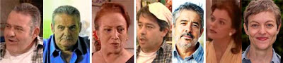 Ángel de Andrés, Carlos Iglesias, Carmen Rossi, Nuria González