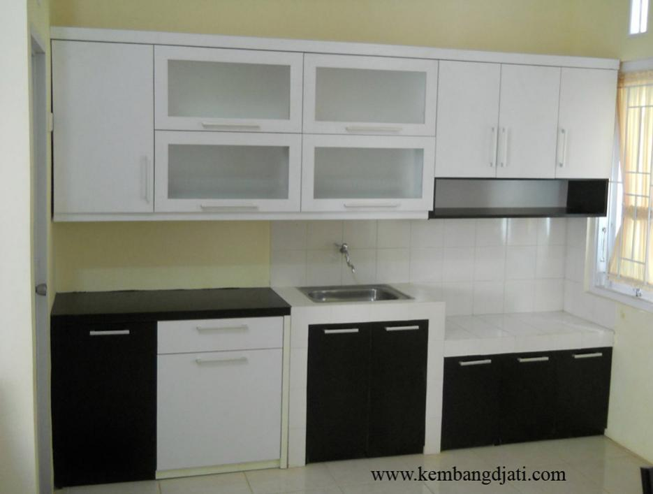 Rumah minimalis desain kitchen set minimalis for Kitchen minimalis