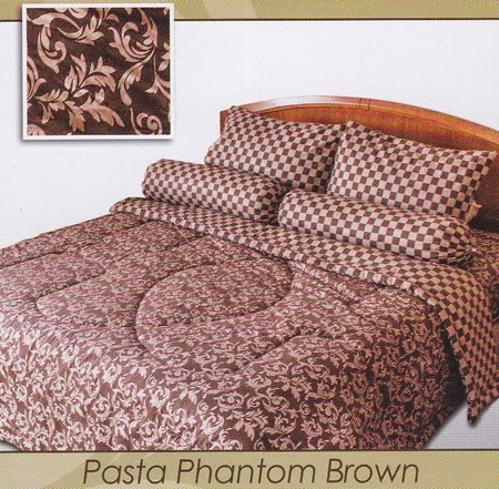 Sprei Shyra Pasta Phantom Brown