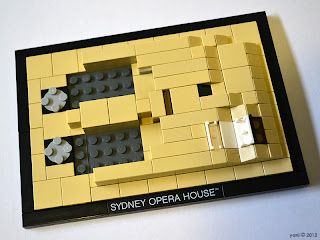 lego sydney opera house - the plaza
