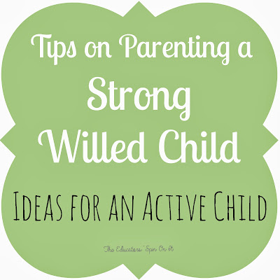 Tips for Parenting an Active and Strong Wiled Child