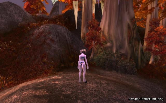 Дренейка в Азжаре до Катаклизма (скриншот
