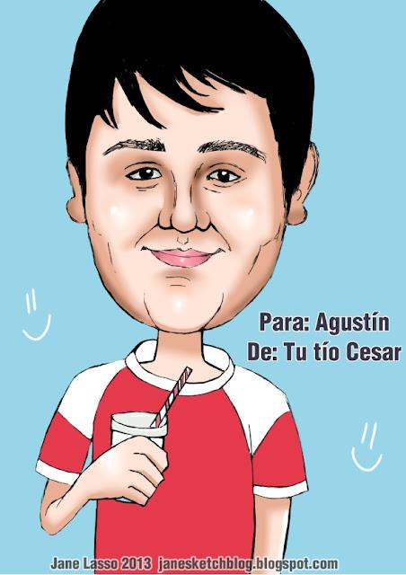 Caricatura para el segundo ganador