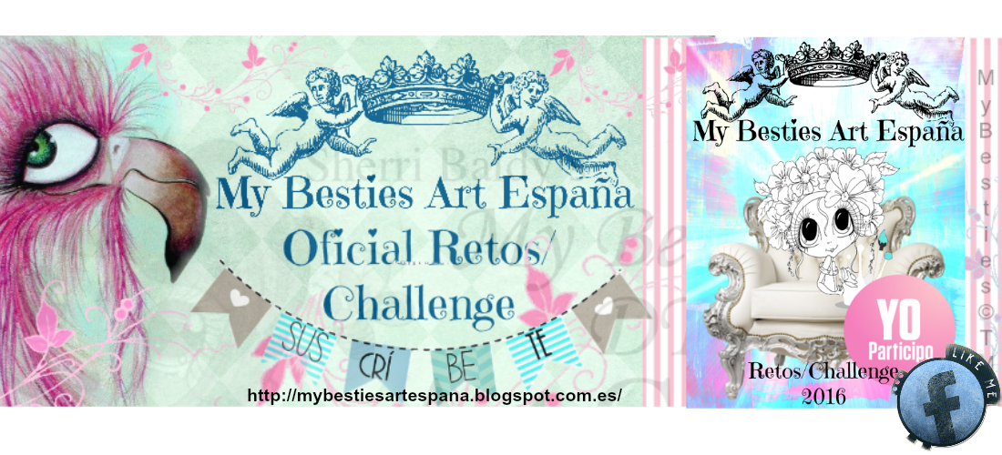 My Besties Art Espana challenge