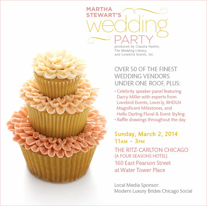 Win Tickets To Martha Stewarts Wedding Party