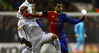 Video Gol Tottenham Hotspur vs Basel 5 April 2013