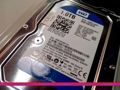 IMG 20131027 204053 硬碟推薦: Western Digital WD 1TB 藍標 3.5吋 SATA3 (WD10EZEX) 最佳系統碟