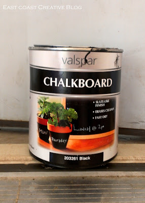 valspar chalkboard paint